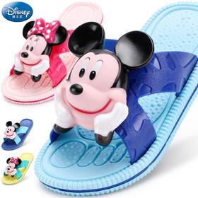 儿童凉拖鞋男童女童可爱 迪士尼2018夏季新室内卡通小孩防滑拖鞋
