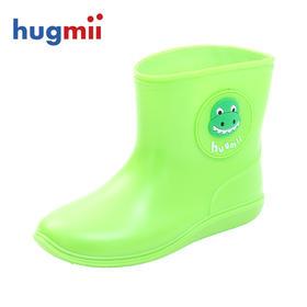 hugmii儿童雨鞋卡通果冻小孩学生橡胶水鞋男女童宝宝雨靴春夏胶鞋