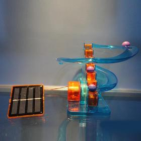 超燃实验套装 火山实验+太阳能轨道(两盒)包邮