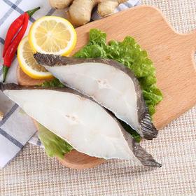 海鲜大咖:格陵兰比目鱼段500g, 原料进口新鲜比目鱼中段