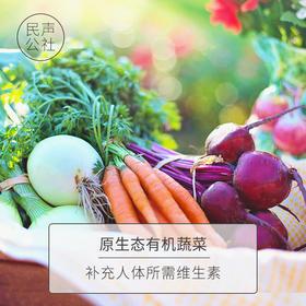【民声·品选】有机蔬菜一周体验餐(含2次配送,7-9品种/箱/次约重6斤,2次共12斤,限深圳市)