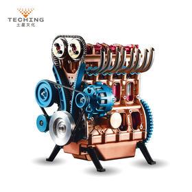发动机金属拼装模型,机械控的最爱