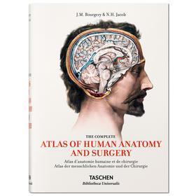【德国TASCHEN】人体解剖手术艺术 医学人体解剖图例