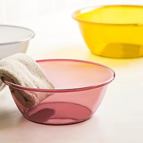 日本 加厚家用洗脸盆塑料小号大号多色洗衣盆洗脚盆洗衣服盆