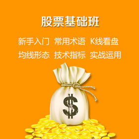 金融投资(股票)基础班-颜老师班