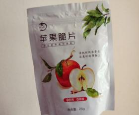 【天然零食】立君苹果脆片苹果干 5包装