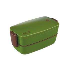 日本asvel分格饭盒便当盒日式学生成人大容量 2层塑料微波炉餐盒