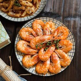 72小时发,秘制开背南美虾(麻辣 香辣)两种口味可以自由选择