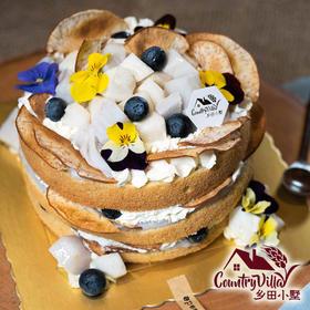 香芋荸荠裸蛋糕