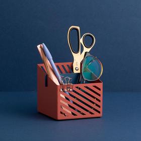 纳谷 | Sunshine 光影斜纹双层拼色杂物盒