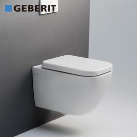 吉博力 Geberit壁挂式马桶套餐酷方隐藏水箱家用冲落式墙排坐便器
