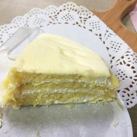 【顺丰包邮】猫山王榴莲千层蛋糕 一口倾心 6寸500g净重