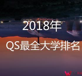 【资料】2018年QS大学学校排名-电子版