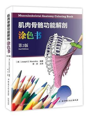 肌肉骨骼功能解剖涂色书(第2版)北京科学技术出版社