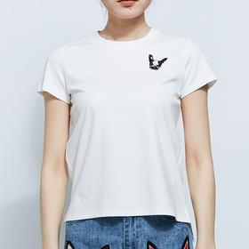 绣花狗头短袖T恤   预售  3月30日后发货