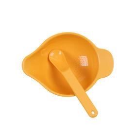 美国Ecokiddo米仔玉米辅食研磨碗勺