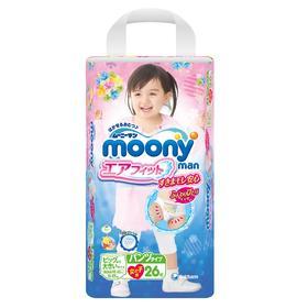 日本moony尤妮佳拉拉裤XXL 26片/包 女