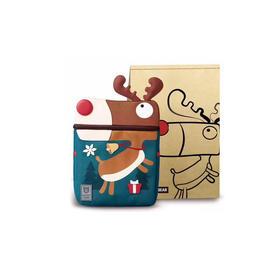 韩国BEDDYBEAR杯具熊儿童宠物书包 棕色小鹿