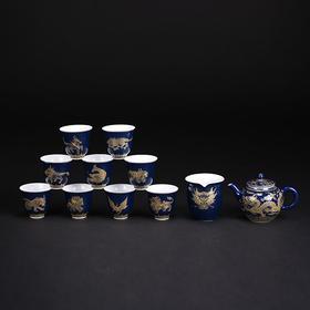 龙生九子茶具