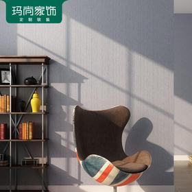 玛尚家饰水晶纱线墙布 现代简约素色墙纸卧室客厅电视背景墙壁