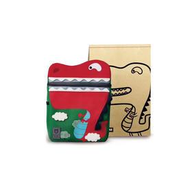 韩国BEDDYBEAR杯具熊儿童宠物书包 红色小恐龙