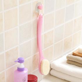 【日本进口】长柄按摩浴刷 软毛洗澡刷子 沐浴刷