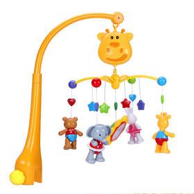 谷雨宝宝音乐旋转床铃婴儿床头床挂摇铃玩具 (3-12个月)