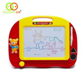 谷雨趣味彩色手写板趣味磁性画板 1-3岁适用