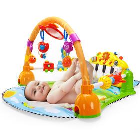 谷雨宝宝脚踏钢琴 健身架器