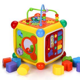 谷雨智立方形状配对儿童益智数字屋智慧屋
