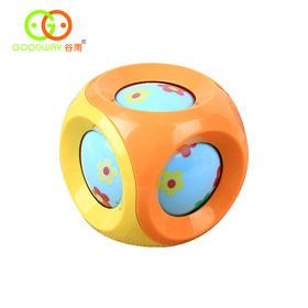 谷雨宝宝叮咚球滚球 婴儿手抓摇铃球玩具 儿童