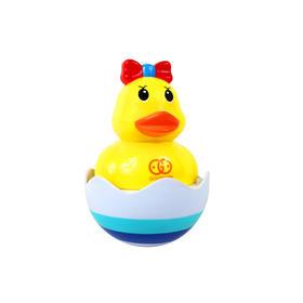 谷雨宝宝洗澡戏水水陆两用不倒鸭玩具