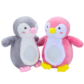 贝恩施安抚企鹅 婴幼儿睡眠玩具0-1岁蓝牙音乐胎教毛绒玩偶玩具