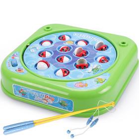 谷雨3档宝宝调速音乐钓鱼玩具套装
