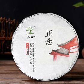 小璞家2017年春茶正念云南纯料古树茶特级普洱茶生茶饼茶200g
