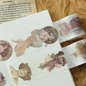 创意烫金和纸宽胶带 手帐   文具