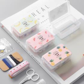创意多功能mini便携针线盒  文具