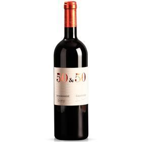 意大利原瓶进口红酒爱唯侬堡50&50 梅洛干红葡萄酒