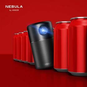 大屏投影看球首选:Anker NEBULA 便携投影仪(内置HIFI音响 智能微投 自动垂直梯形矫正 适用于安卓/苹果同屏)
