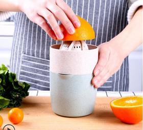 榨汁杯手动榨汁机迷你橙子橙汁榨汁机手动简易榨汁机家用水果小型