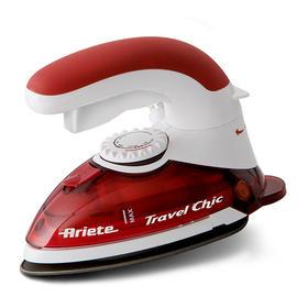 180度旋转手柄,手持式家用迷你蒸汽电熨斗,强劲蒸汽,方便携带,红色