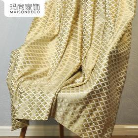 玛尚家饰成品窗帘 现代简约客厅卧室遮光帘落地帘布/格鲁布