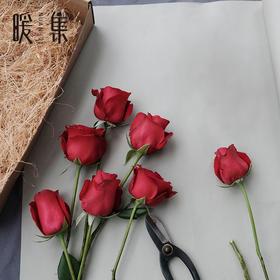 【暖集街角花店】红玫瑰花束