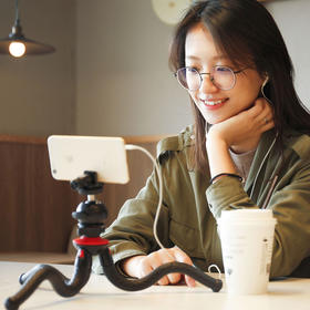 [品牌直发] 富图宝八爪鱼手机百变支架  单反微单手机通用三脚架 (YQYX)
