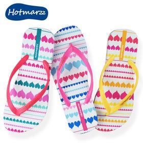 hotmarzz黑玛夏季外穿人字拖女平底防滑沙滩鞋女时尚室外凉拖鞋