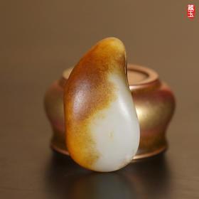 黄沁皮原石,新疆和田籽料