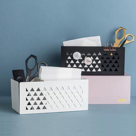 have简约客厅桌面收纳盒多功能家用创意遥控器储物盒抽纸盒纸巾盒