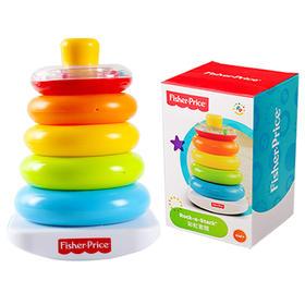 费雪玩具彩虹套圈 N8248 层层叠婴儿玩具 早教益智叠叠乐儿童玩具