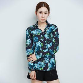 时尚气质印花棉质衬衫