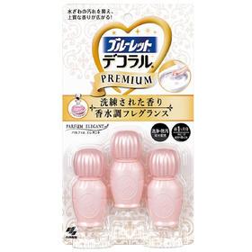 日本小林制药 马桶开花 马桶除臭抗菌凝胶 香水优雅花香型
